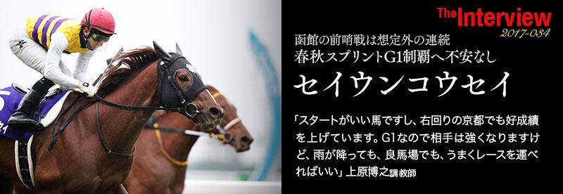 函館の前哨戦は想定外の連続 春秋GⅠ制覇へ不安なし セイウンコウセイ