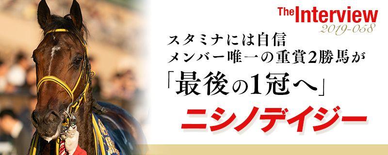 【菊花賞】ニシノデイジー スタミナには自信 メンバー唯一の重賞2勝馬が最後の1冠へ