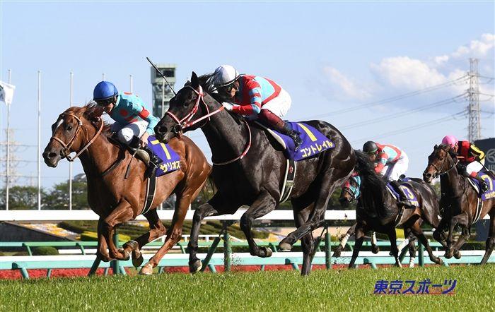 皐月賞のレース写真