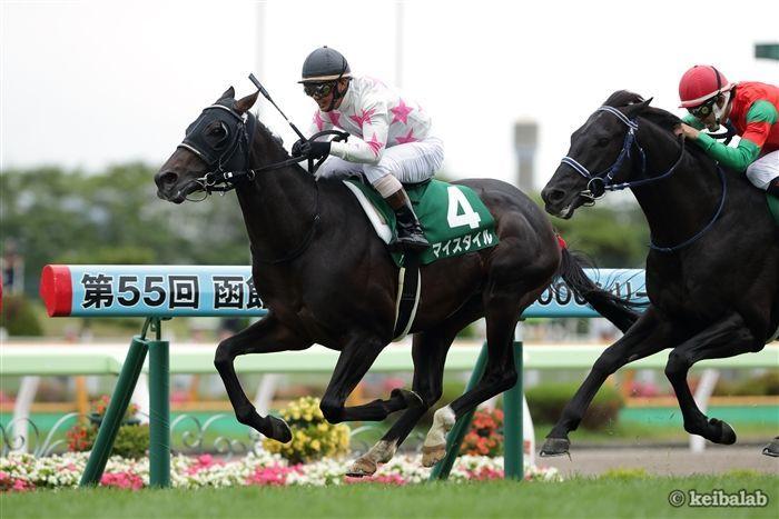 函館記念のレース写真