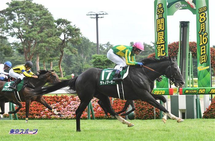 関屋記念のレース写真