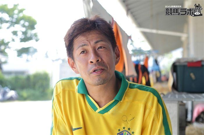 高橋厩務員