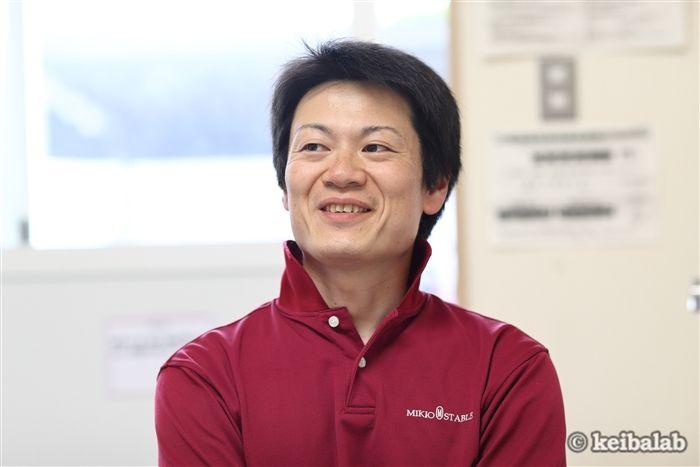 額田洋介調教助手