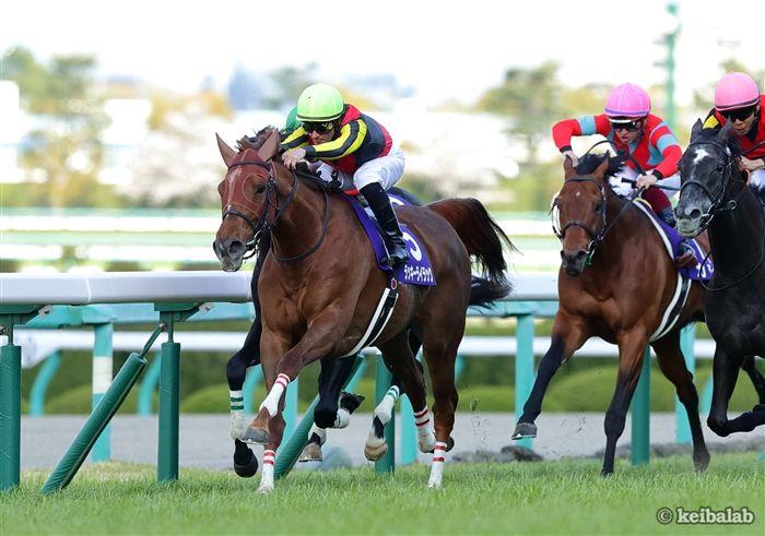 今年の大阪杯では牡馬も撃破したラッキーライラック
