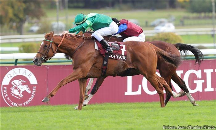 C.デムーロと共に凱旋門賞馬に輝いたソットサス