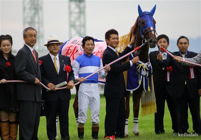 07年秋華賞をダイワスカーレットと制した安藤勝己さん