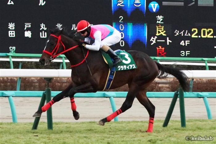 皐月賞と同じ舞台の京成杯を勝ったグラティアス
