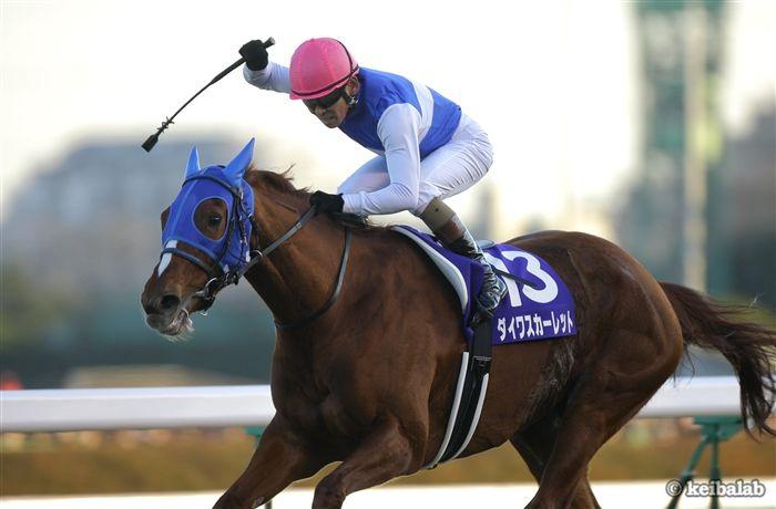 08年大阪杯を優勝し年末の有馬記念も勝ったダイワスカーレット